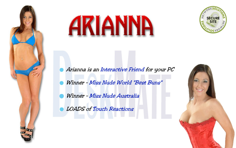 Arianna Virtual Girl DeskMate