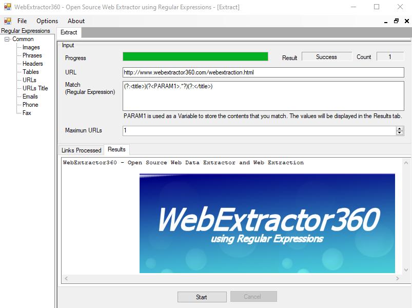 WebExtractor360
